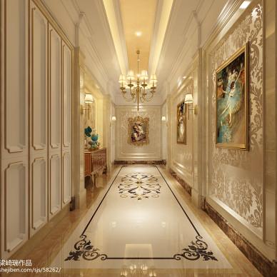 室内设计师梁崎瑞设计【轻奢古典】_3229537