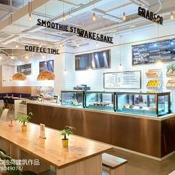 WHEAT 餐厅服务台设计