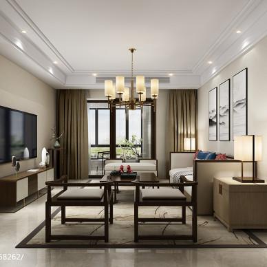 室内设计师梁崎瑞设计【新中式】_3230424