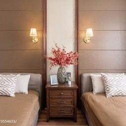 190㎡现代美式卧室设计