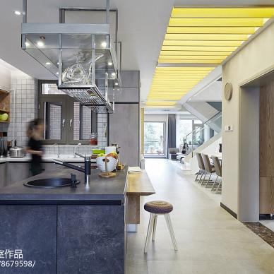 现代别墅厨房设计