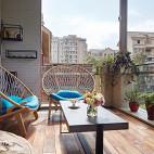 现代别墅阳台设计