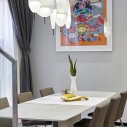 现代别墅餐厅吊灯设计