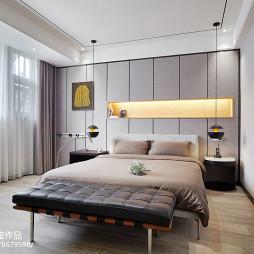 现代别墅主卧设计