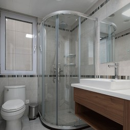 恬静现代卫浴设计