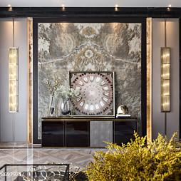 大气现代别墅客厅装饰设计