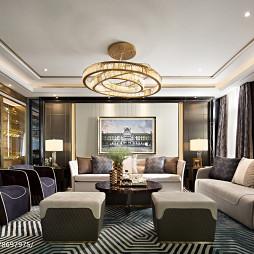 大气现代别墅客厅设计