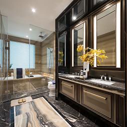 大气现代别墅卫浴设计