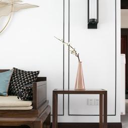 大气中式客厅壁灯设计