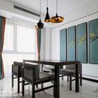 大气中式餐厅设计