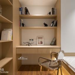 靜謐簡約臥室書桌設計