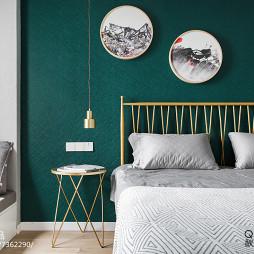 98㎡北欧卧室设计