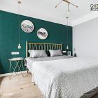 98㎡北欧卧室设计图片