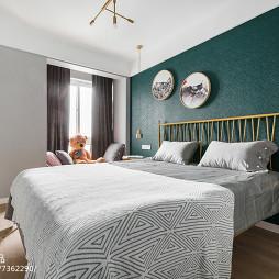 98㎡北欧卧室装饰设计