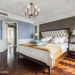 170㎡现代美式卧室设计