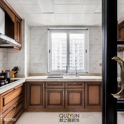 170㎡现代美式厨房设计