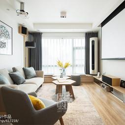 静谧北欧客厅设计