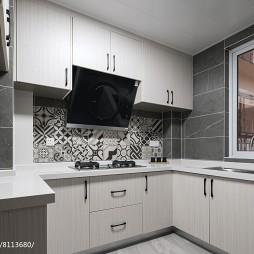 108平清新婚房厨房设计