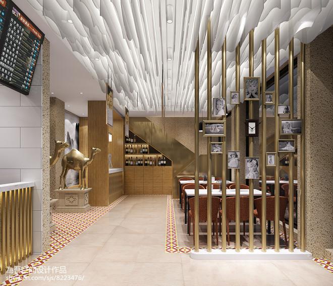 驼铃声声--全驼宴主题餐厅设计_32