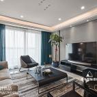 现代简约三居客厅设计实景
