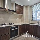 现代简约三居厨房设计实景