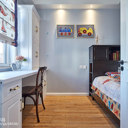 新美式主义儿童房设计图片