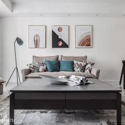 现代简约两居客厅设计