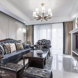浪漫·美式客厅吊灯设计