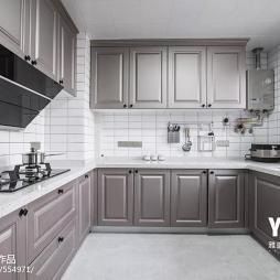 浪漫·美式厨房设计图