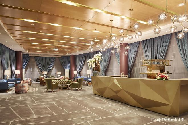 华龙私人飞机候机厅休闲区设计