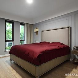 美式三居客廳主臥設計