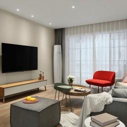 128m² 简约客厅设计