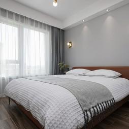 黑白極簡臥室設計