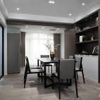 黑白极简餐厅设计