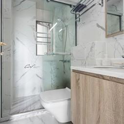 灰色系混搭卫浴设计