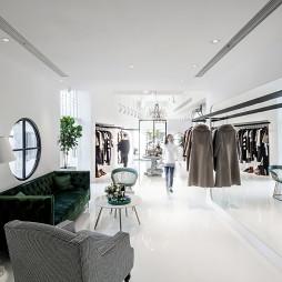 650miles時尚買手店內部設計圖