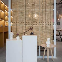 陶藝展銷廳作品展示設計圖