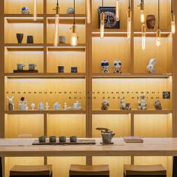 陶藝展銷廳儲物柜設計圖