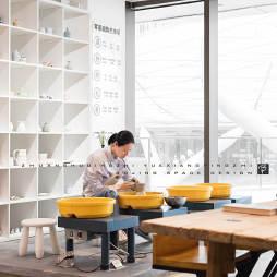 陶藝展銷廳工作坊設計