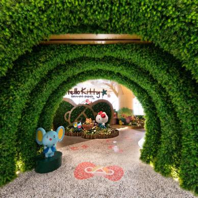 朗昇设计|深圳Hello Kitty Secret Path餐厅设计-向大自然致敬_3244769