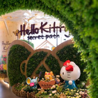 朗昇设计|深圳Hello Kitty Secret Path餐厅设计-向大自然致敬_3244770