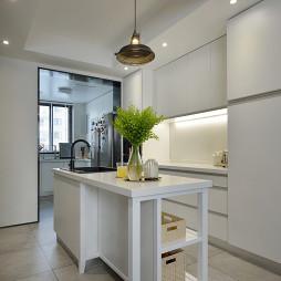 明亮简约厨房设计图片