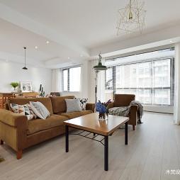 明亮簡約客廳設計