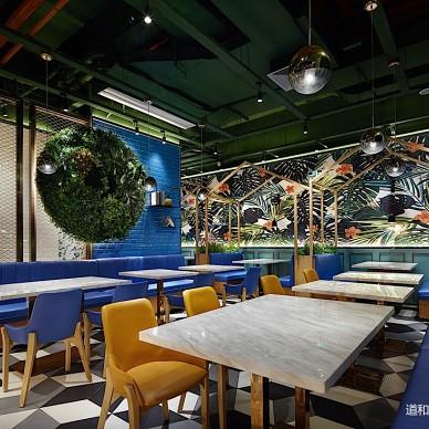 食儒餐厅桌椅设计图