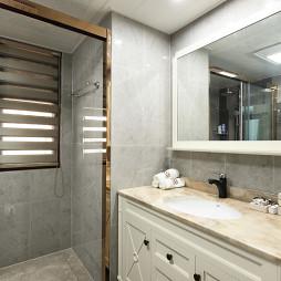 简单北欧餐厅卫浴设计