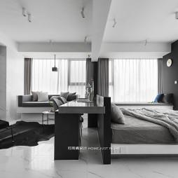 现代小户型卧室书房设计
