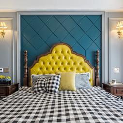 混搭美式风卧室设计