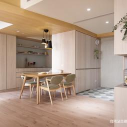 简单北欧三居餐厅设计实景