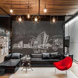 麻绳工作室接待区设计图
