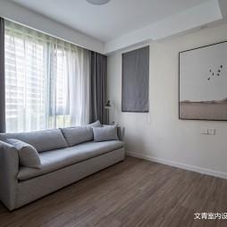 黑白現代休閑區設計